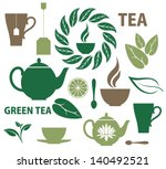 Stock vector tea 140492521
