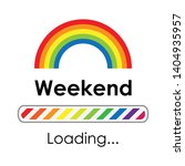 vector illustration rainbow and ...   Shutterstock .eps vector #1404935957