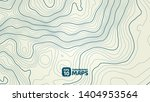 the stylized height map ... | Shutterstock .eps vector #1404953564