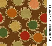 seamless pattern with circles | Shutterstock .eps vector #140498455