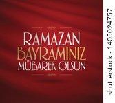 eid al fitr mubarak islamic... | Shutterstock .eps vector #1405024757