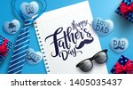 father's day promotion poster... | Shutterstock .eps vector #1405035437