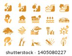 disasters caused by... | Shutterstock .eps vector #1405080227