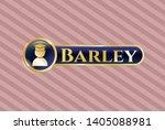 golden emblem with graduation...   Shutterstock .eps vector #1405088981