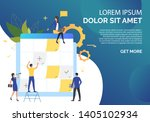 business people working with...   Shutterstock .eps vector #1405102934
