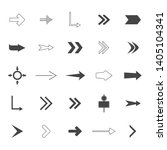 direction arrows vector...