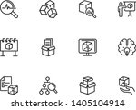 abstract product line icon set. ... | Shutterstock .eps vector #1405104914