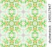 tibetan fabric. repeat tie dye... | Shutterstock . vector #1405117847