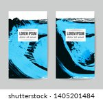 set of vector business card... | Shutterstock .eps vector #1405201484