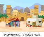 vector illustration of middle... | Shutterstock .eps vector #1405217531