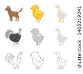 vector design of breeding and... | Shutterstock .eps vector #1405219241