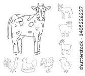 vector design of homemade and... | Shutterstock .eps vector #1405226237