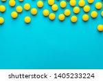 many balls for table tennis on... | Shutterstock . vector #1405233224