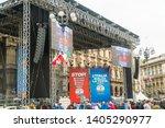 milan  italy   18 may 2019 ... | Shutterstock . vector #1405290977