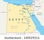 map of egypt | Shutterstock .eps vector #140529211