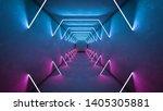 night club interior lights 3d... | Shutterstock . vector #1405305881
