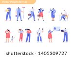 people of different occupations....   Shutterstock .eps vector #1405309727