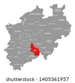 oberbergischer kreis red... | Shutterstock . vector #1405361957
