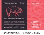premium quality meat abstract...   Shutterstock .eps vector #1405405187