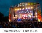 moscow   may 25  guru groove...   Shutterstock . vector #140541841