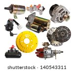 set of auto parts. isolated on... | Shutterstock . vector #140543311