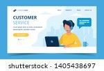 Customer Service Landing Page....