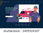 medical insurance template ... | Shutterstock .eps vector #1405524107