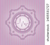 electrocardiogram icon inside... | Shutterstock .eps vector #1405531727