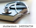 Closeup Medical Stethoscope And ...