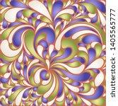 silk texture fluid shapes ...   Shutterstock .eps vector #1405565777