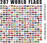 world flag flat icon collection ... | Shutterstock .eps vector #1405575167