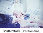 man with multi exposure...   Shutterstock . vector #1405630061