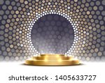 the gold podium is winner or...   Shutterstock .eps vector #1405633727