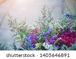 bouquet of flowers made from...   Shutterstock . vector #1405646891