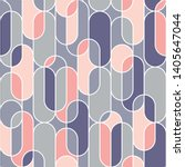trendy upright oval geometric... | Shutterstock .eps vector #1405647044