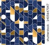 luxury masculine marine blue... | Shutterstock .eps vector #1405647047