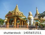 majestic gate of the pagoda    Shutterstock . vector #1405651511