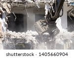 Demolition Of A Building In...