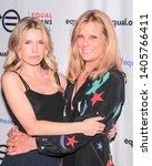 Small photo of New York, NY - May 21, 2019: Theodora Richards and Patti Hansen attend the Equal Means Equal event at Paradise Club at the Times Square Edition