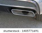 car exhaust pipe smoke fumes | Shutterstock . vector #1405771691