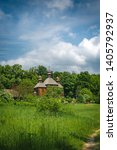 Orthodox Wooden Church In The...