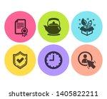confirmed  certificate and... | Shutterstock .eps vector #1405822211