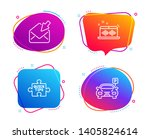 music making  open mail and...   Shutterstock .eps vector #1405824614