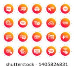 quick tips icons. set of... | Shutterstock .eps vector #1405826831