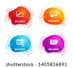 liquid badges. set of computer... | Shutterstock .eps vector #1405826891