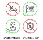 do or stop. quick tips  truck... | Shutterstock .eps vector #1405830434