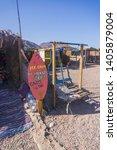 dahab  south sinai   egypt ... | Shutterstock . vector #1405879004