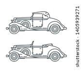 line vector icon set american...   Shutterstock .eps vector #1405939271