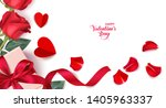 valentine's day design template.... | Shutterstock .eps vector #1405963337