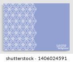 abstract line background with... | Shutterstock .eps vector #1406024591
